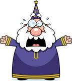 Scared Wizard Royalty Free Stock Photos