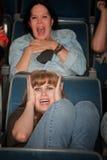 Scared Women Stock Photo