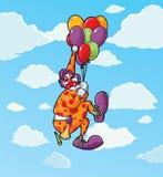 Scaredy Clown Stockbild