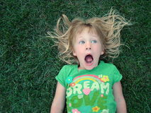 Scaredy Pants Royalty Free Stock Images