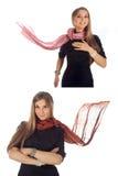 scarf royaltyfria foton