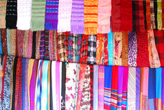 Scarf background Stock Images