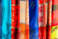 Scarf background Royalty Free Stock Photo
