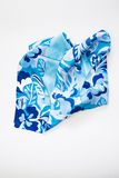 Scarf blue Stock Images