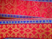 scarf of borneo royalty free stock images