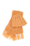 Scarf and cap Royalty Free Stock Images