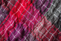 Scarf closeup Royalty Free Stock Images