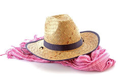 Scarf and  hat Royalty Free Stock Photos
