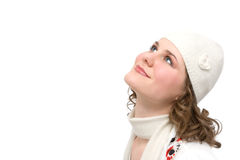 Scarf and hat Royalty Free Stock Images