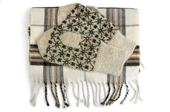 Scarf and mittens Royalty Free Stock Image