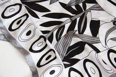Scarf monochrome texture Stock Photos