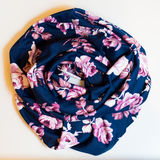 Scarf multicolored clothes. On a white background Stock Photos