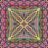 Scarf pattern Stock Image