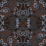 Scarf pattern Royalty Free Stock Images