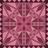 Scarf pattern Stock Photography