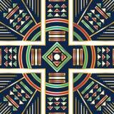 Scarf pattern Stock Image