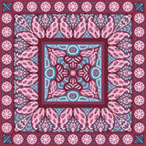 Scarf pattern Royalty Free Stock Photo
