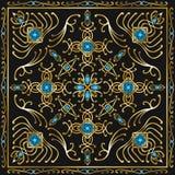 Scarf pattern Stock Photo