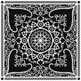 Scarf pattern Royalty Free Stock Image