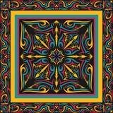Scarf pattern Royalty Free Stock Photo