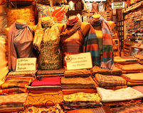 Scarf Shop Stock Images