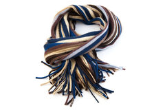 Scarf on white Royalty Free Stock Photography