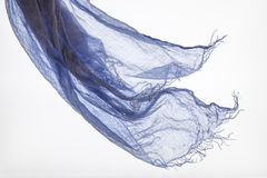 Scarf in the wind purple Royalty Free Stock Photos