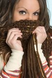 Scarf Woman Royalty Free Stock Image