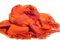 Scarf of woman Royalty Free Stock Images
