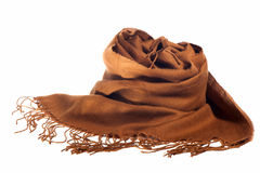 Scarf of woman Royalty Free Stock Image