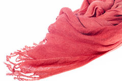 Scarf of woman Stock Image