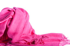 Scarf of woman Stock Images