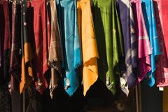Scarfs royalty free stock image