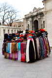 Scarfs and Hats Royalty Free Stock Image