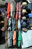 Scarfs and Hats Stock Photo