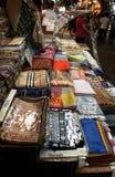 Scarfs in Turkish market. Istanbul Stock Photo