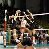 Scarica - pallavolo tutto il gioco 2008 della stella Fotografia Stock Libera da Diritti