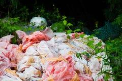 Scarichi la foto del sito per la promozione di riciclano il progetto Immagini Stock Libere da Diritti