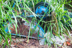 Scarichi la foto del sito per la promozione di riciclano il progetto per il migliore ambiente Immagine Stock