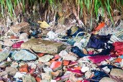 Scarichi la foto del sito per la promozione di riciclano il progetto per il migliore ambiente Fotografia Stock Libera da Diritti