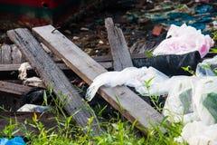 Scarichi la foto del sito per la promozione di riciclano il progetto per il migliore ambiente Immagini Stock