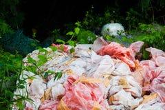 Scarichi la foto del sito per la promozione di riciclano il progetto per il migliore ambiente Fotografie Stock Libere da Diritti
