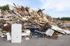 Scarico di rifiuti Fotografie Stock