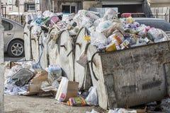 Scarico di rifiuti Fotografia Stock