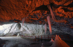 Scarisoara Cave Stock Photography