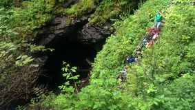 Scarisoara Cave Stock Photos