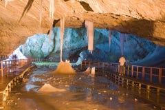 Scarisoara Höhle Stockfotos
