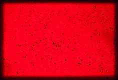 Scarlet background. Glowing background with dark crimson highlights and a darker edge Stock Photos