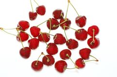 Scarlet cherry Stock Images