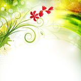 The Scarlet Flower Stock Photography